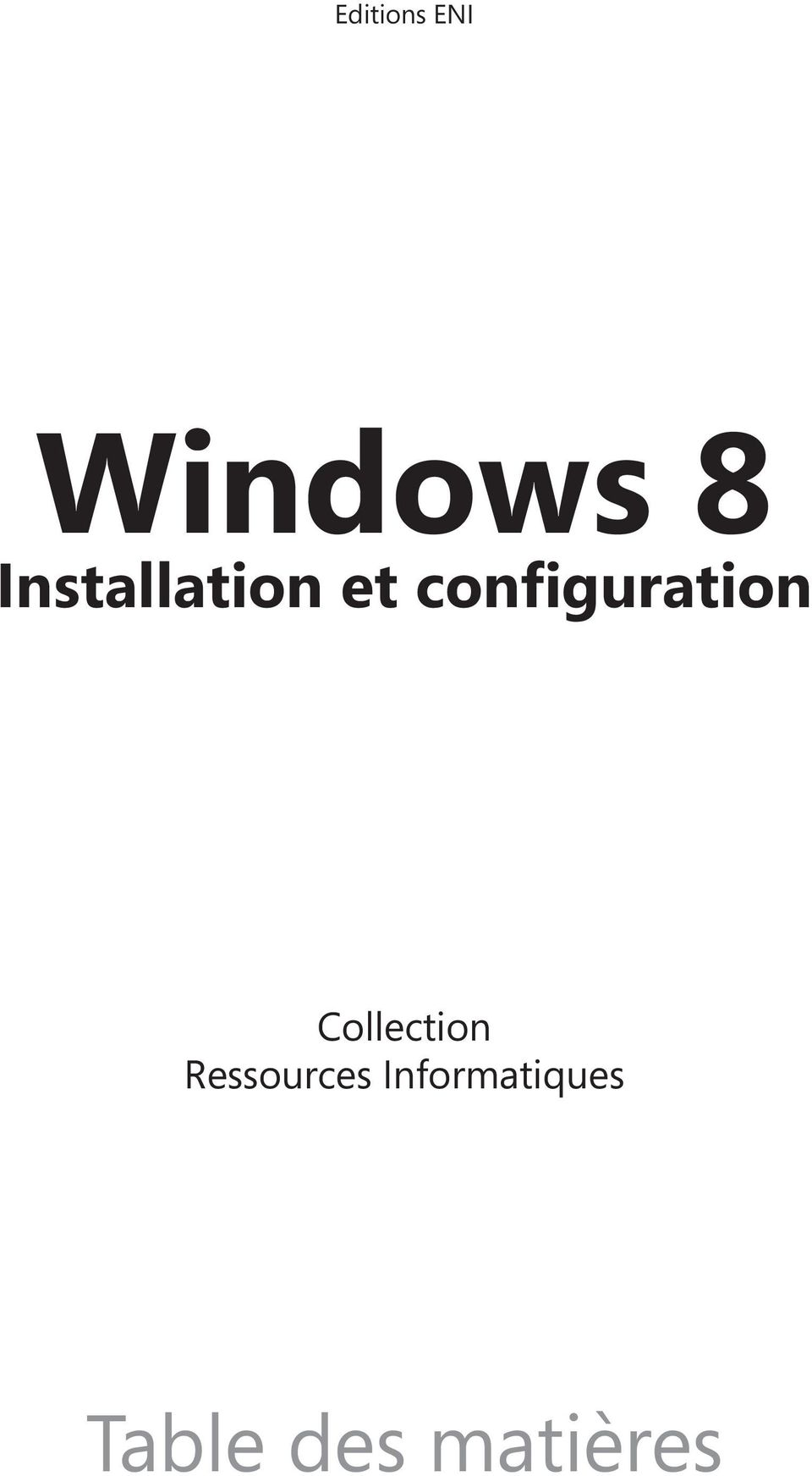 configuration Collection