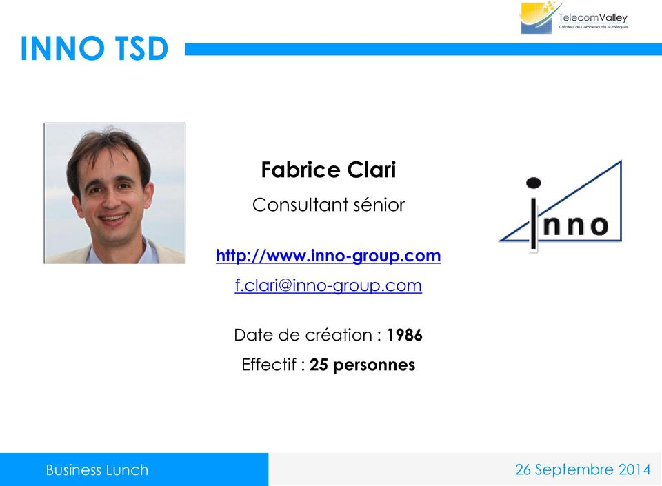 inno-group.com f.clari@inno-group.