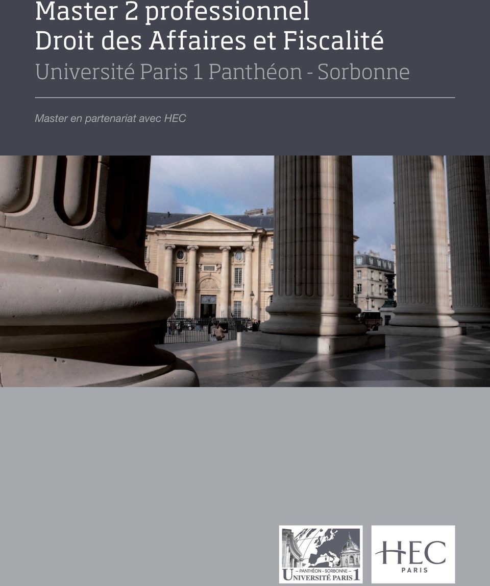 Université Paris 1 Panthéon -