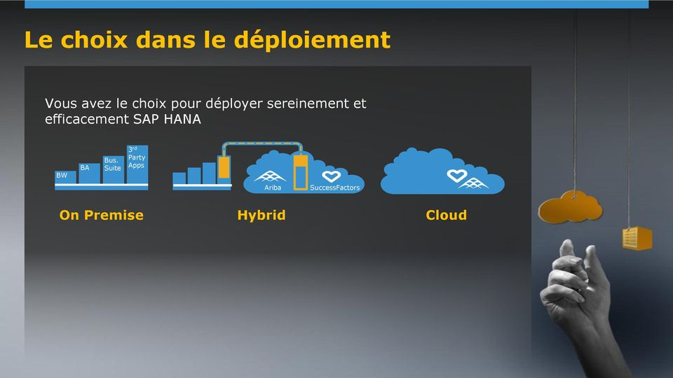 efficacement SAP HANA BW BA Bus.