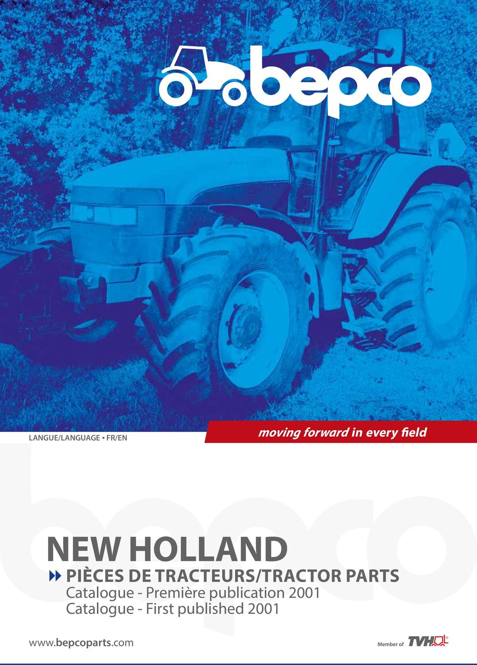 TRACTEURS/TRACTOR PARTS Catalogue -