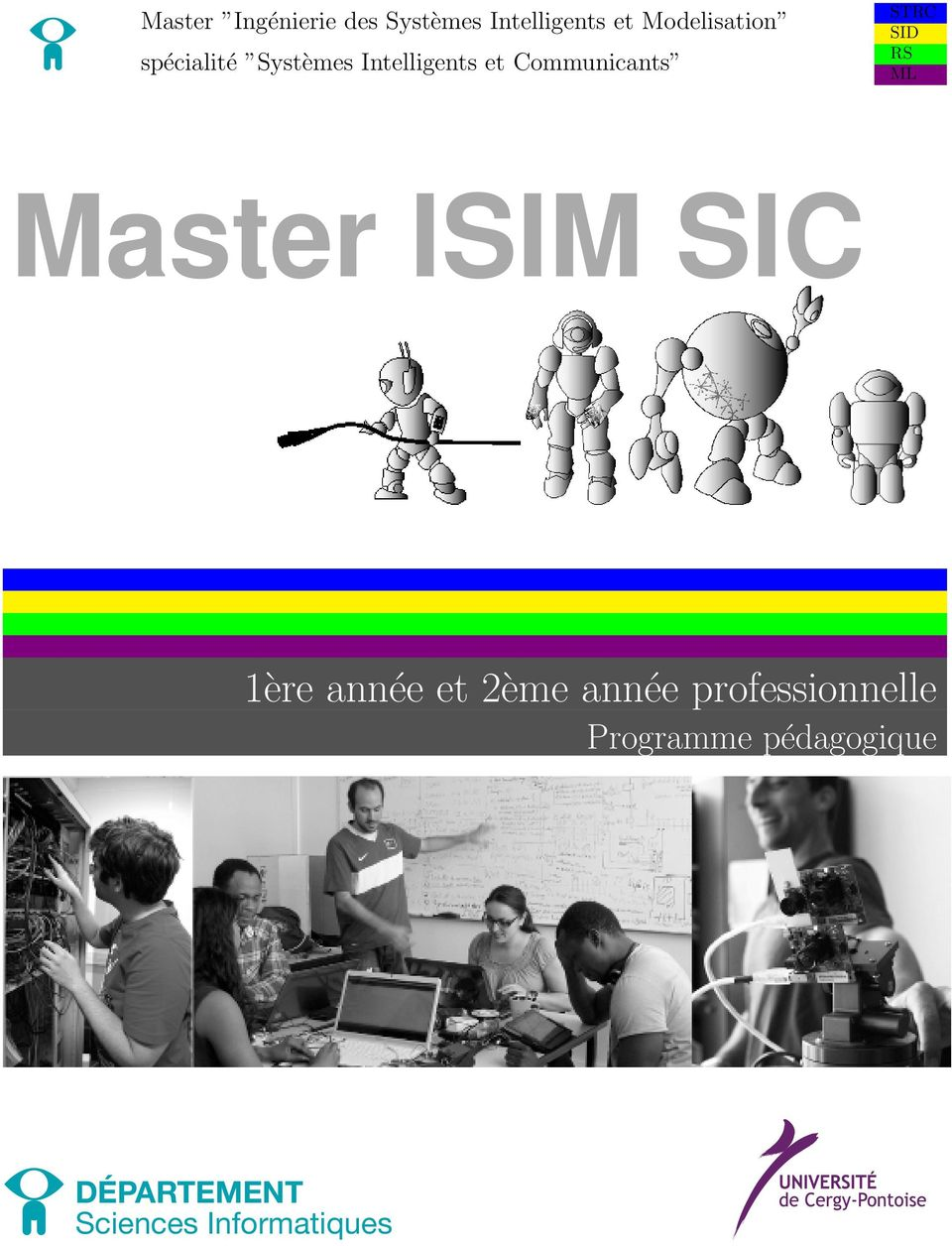 Communicants STRC SID RS ML Master ISIM SIC 1ère année