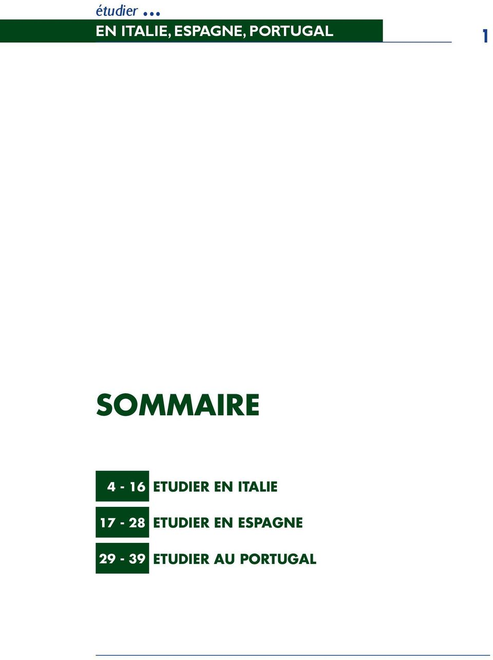 Portugal 1 Sommaire 4-16