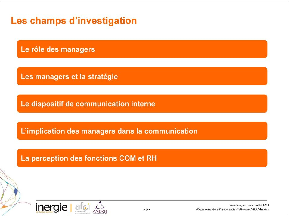 communication interne L implication des managers