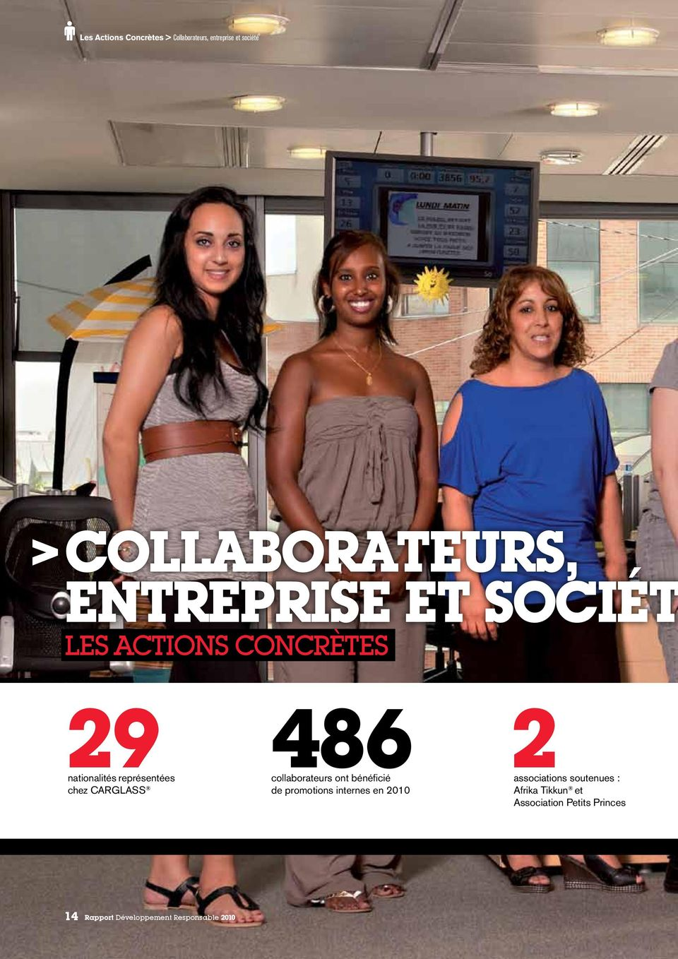 486 collaborateurs ont bénéficié associations de promotions internes en 2010 2