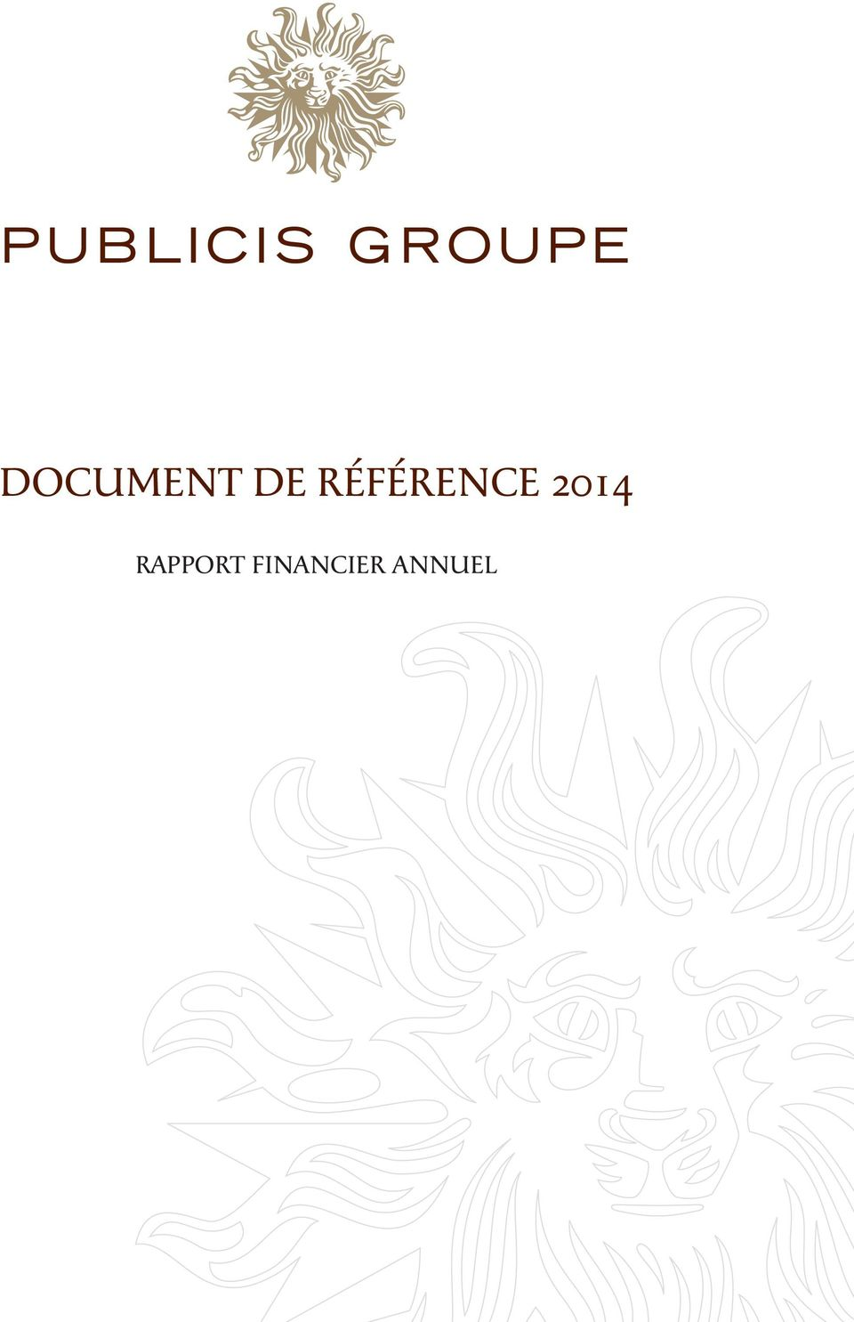 2014 RAPPORT