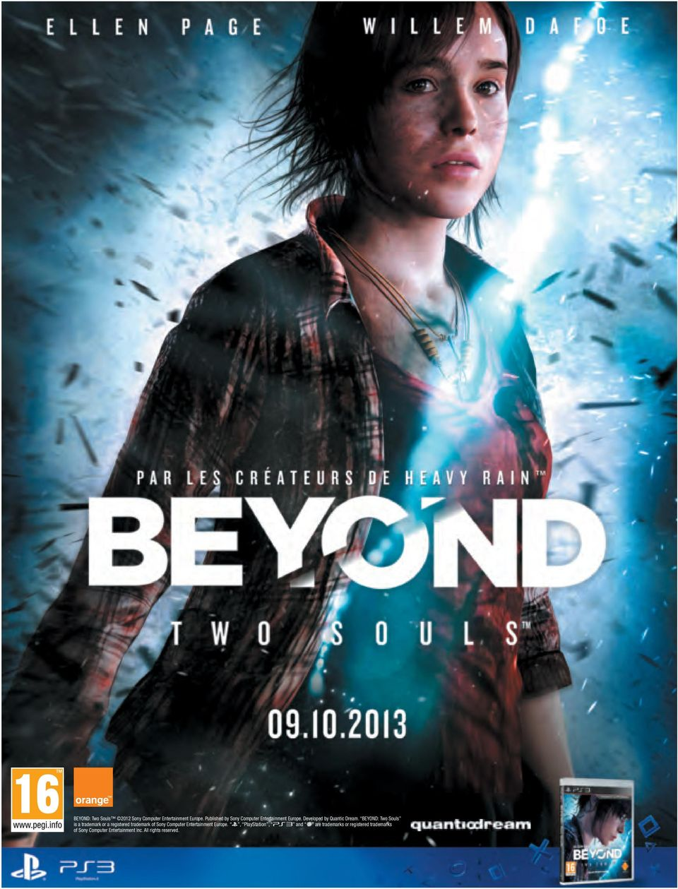 BEYOND: Two Souls is a trademark or a registered trademark of Sony Computer