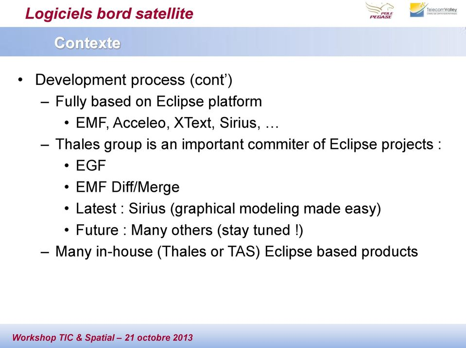 of Eclipse projects : EGF EMF Diff/Merge Latest : Sirius (graphical modeling made