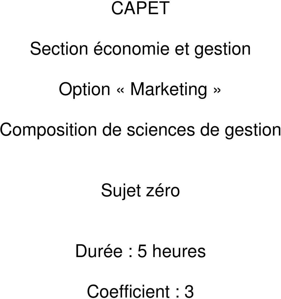 Composition de sciences de