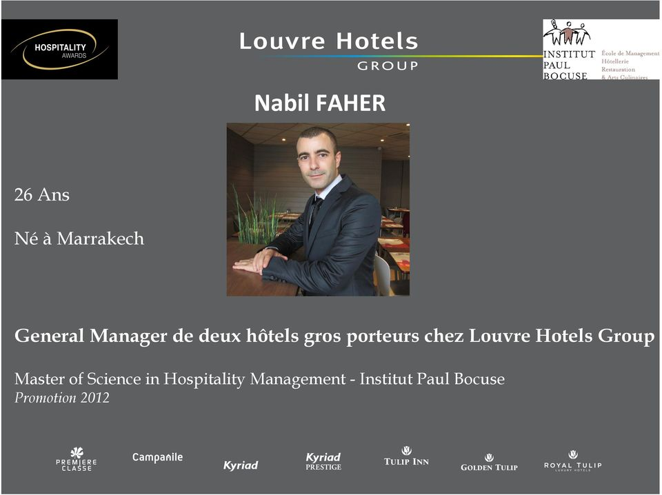 Louvre Hotels Group Master of Science in