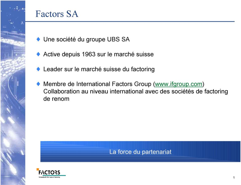International Factors Group (www.ifgroup.