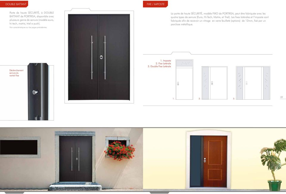 portes blind es gamme start gamme max pdf. Black Bedroom Furniture Sets. Home Design Ideas