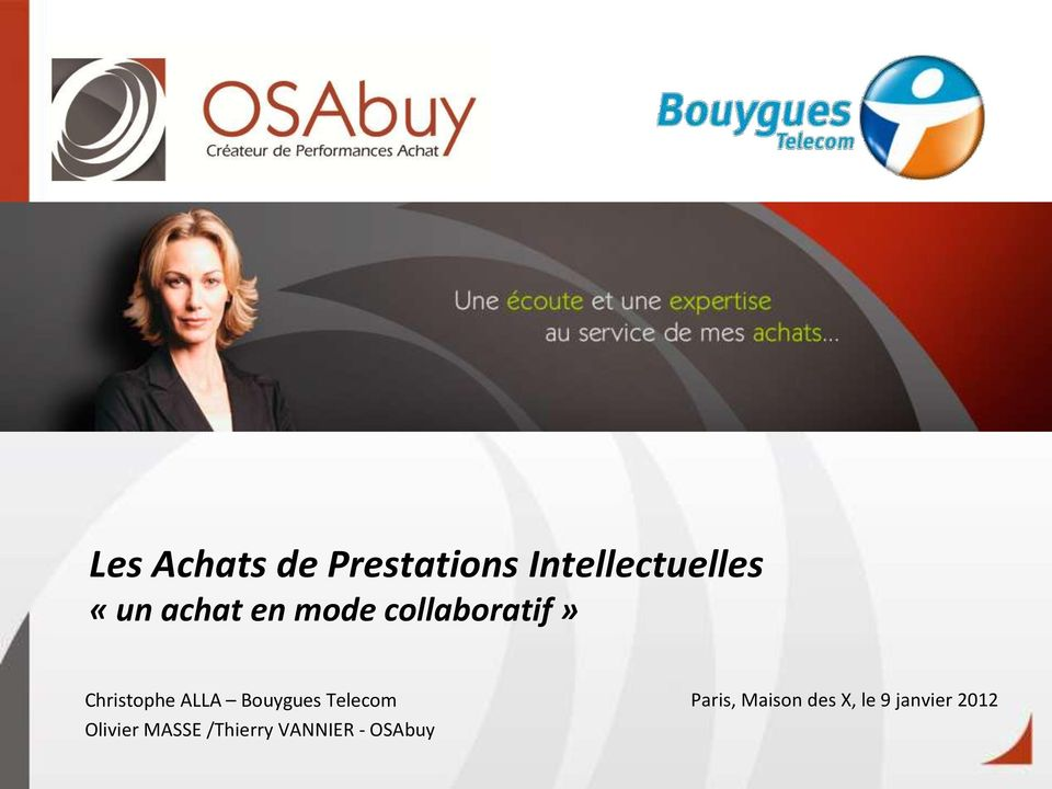 Bouygues Telecom Olivier MASSE /Thierry