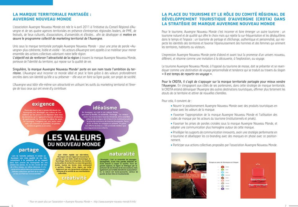collectif de marketing territorial de l Auvergne.