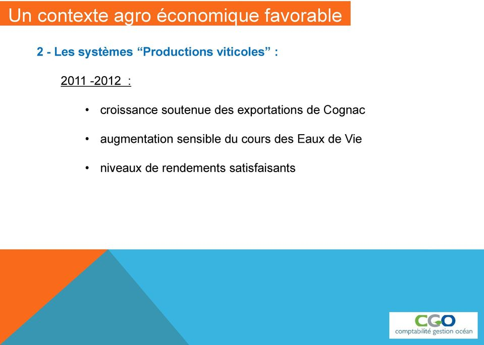 soutenue des exportations de Cognac augmentation
