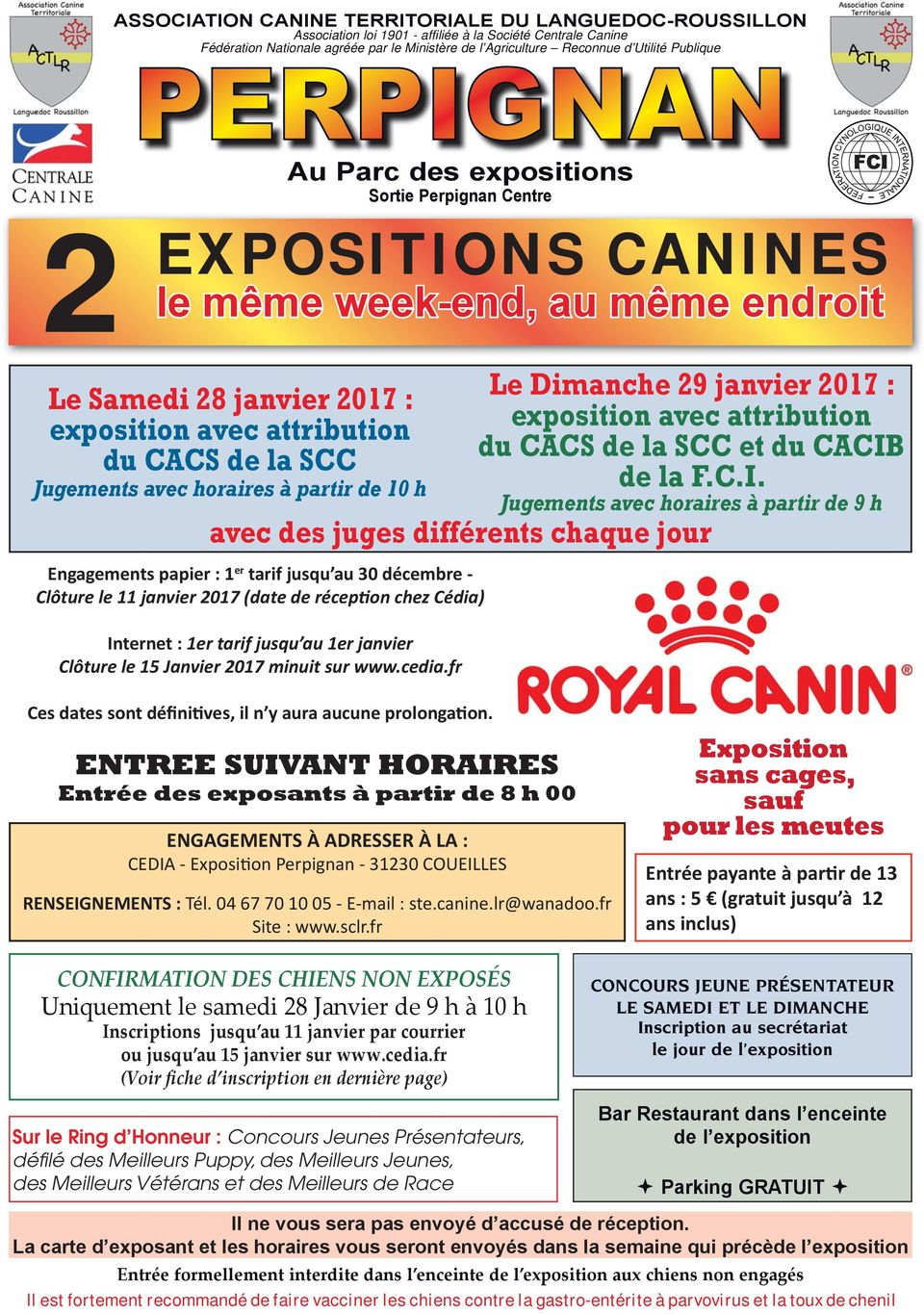 centrale canine languedoc roussillon