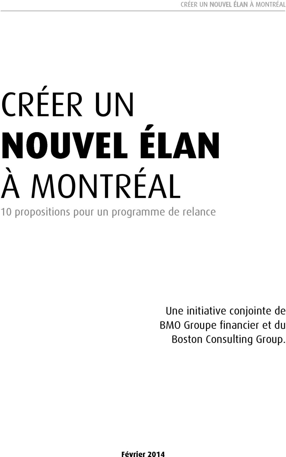 initiative conjointe de BMO Groupe