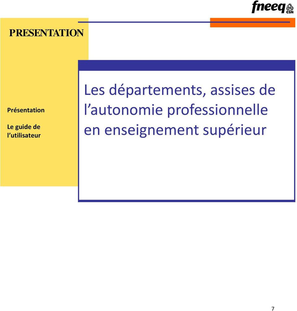 départements, assises de l