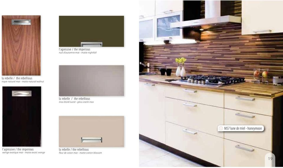gloss starlit inox M57 lune de miel - honeymoon l agressive / the imperious wenge exotique