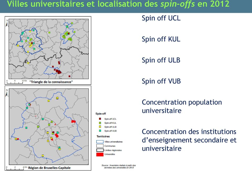 VUB Concentration population universitaire