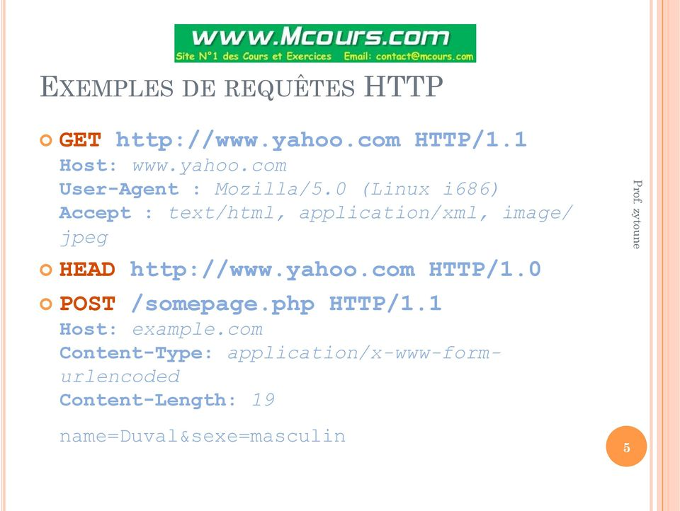 yahoo.com HTTP/1.0 POST /somepage.php HTTP/1.1 Host: example.