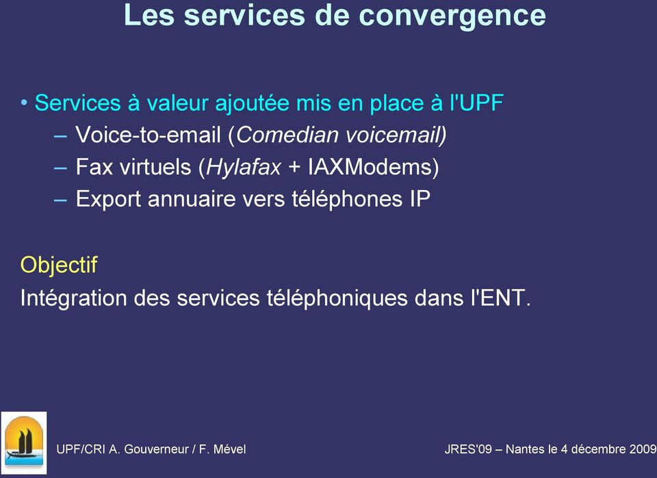virtuels (Hylafax + IAXModems) Export annuaire vers