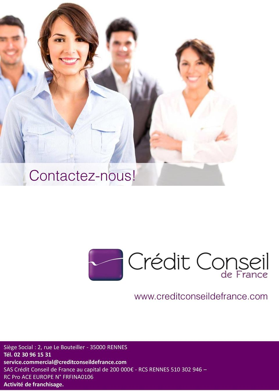 02 30 96 15 31 service.commercial@creditconseildefrance.