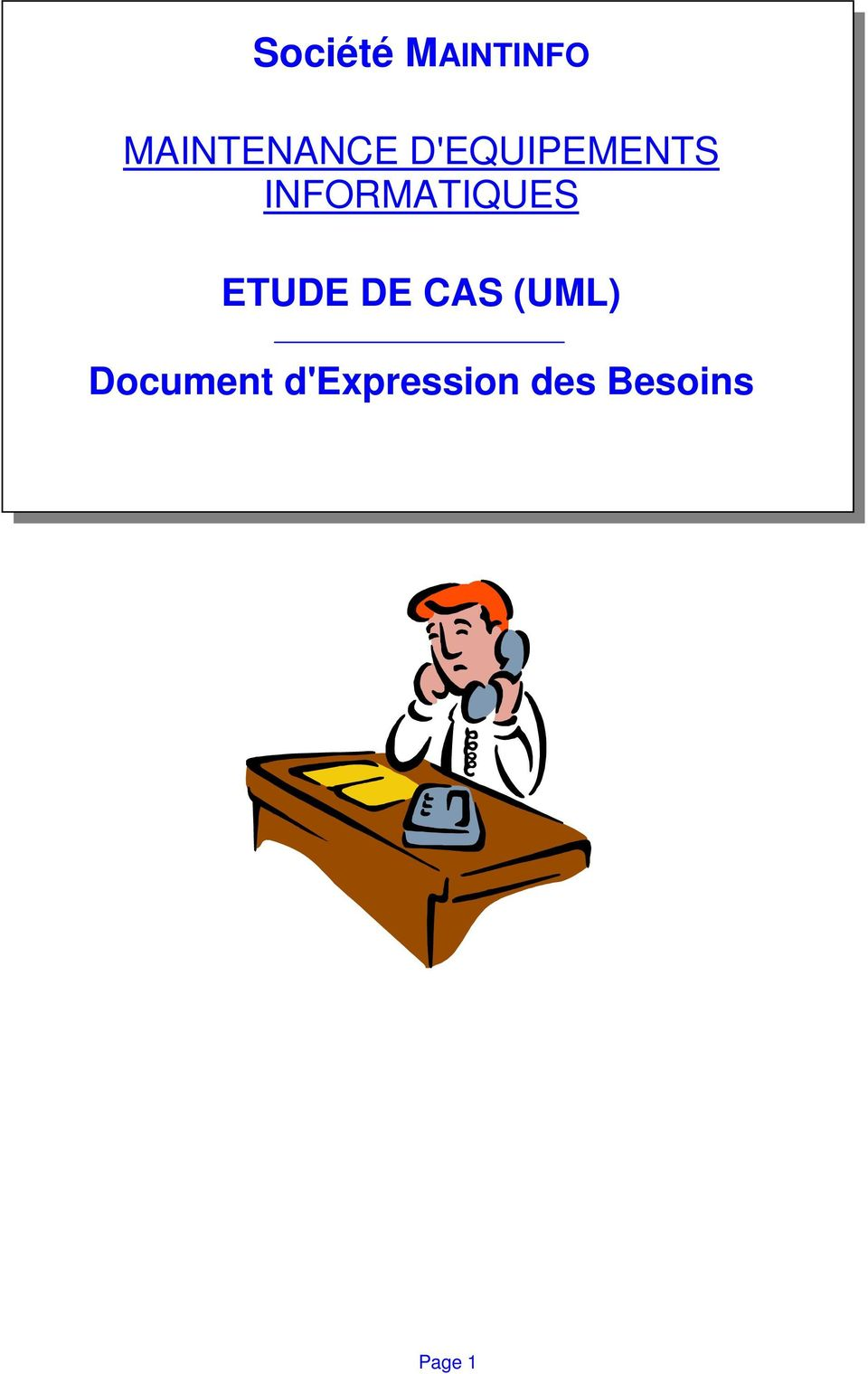 ETUDE DE CAS (UML) Document