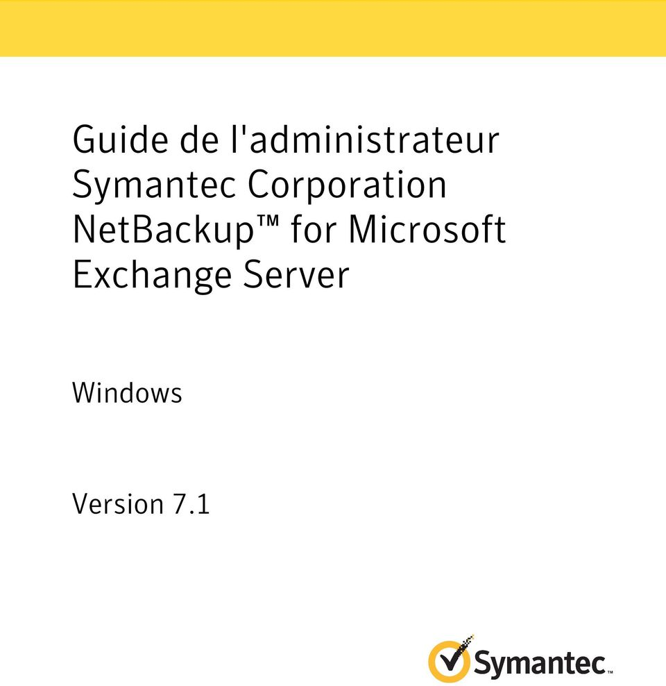 NetBackup for Microsoft