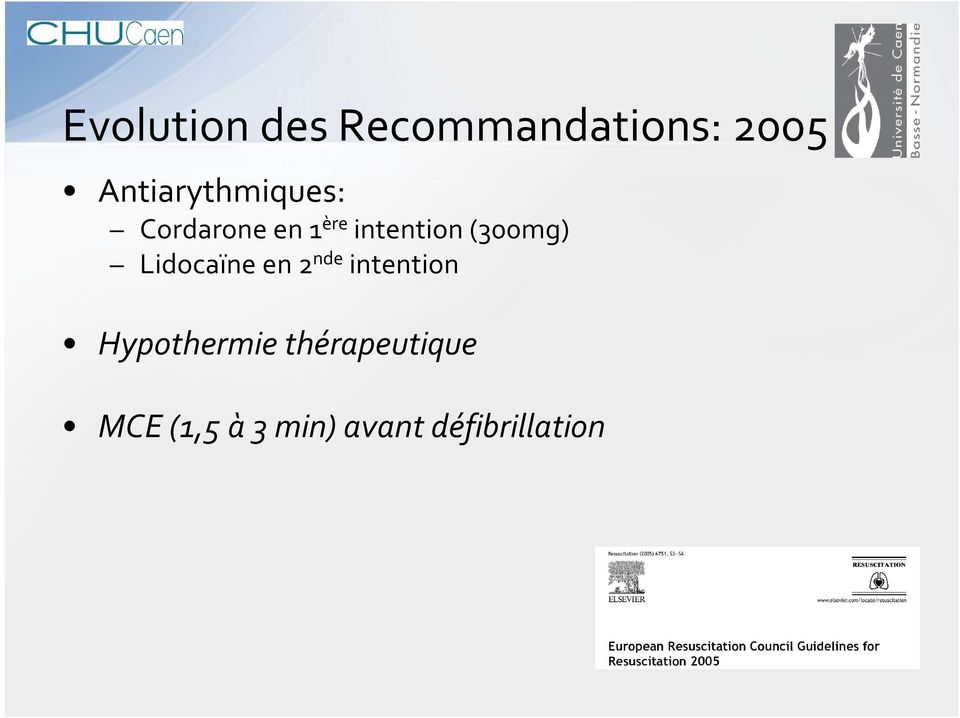 (300mg) Lidocaïneen 2 nde intention