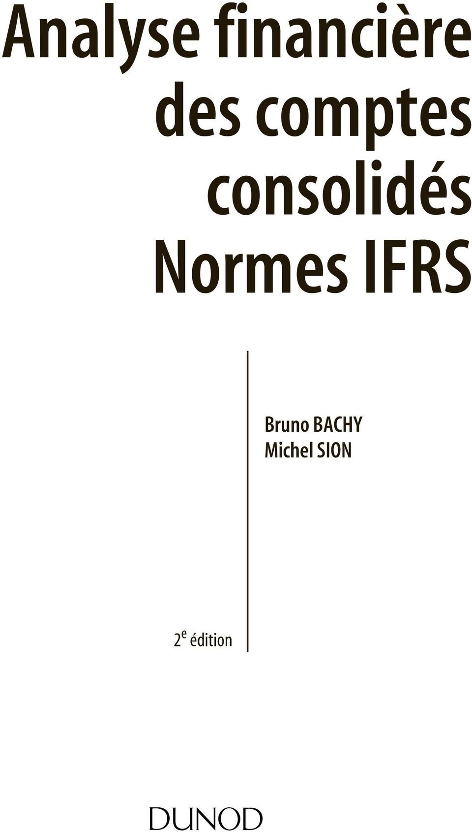 Normes IFRS Bruno