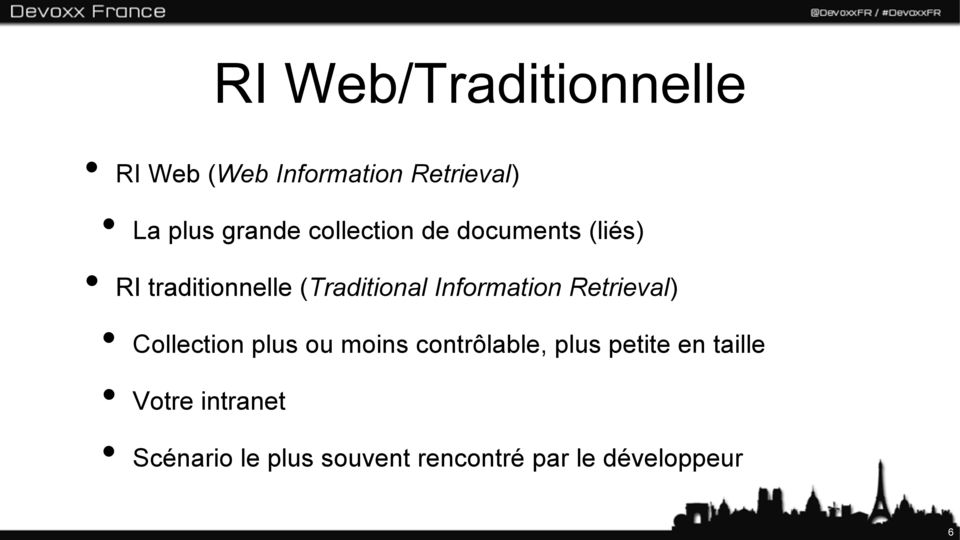 Information Retrieval) Collection plus ou moins contrôlable, plus