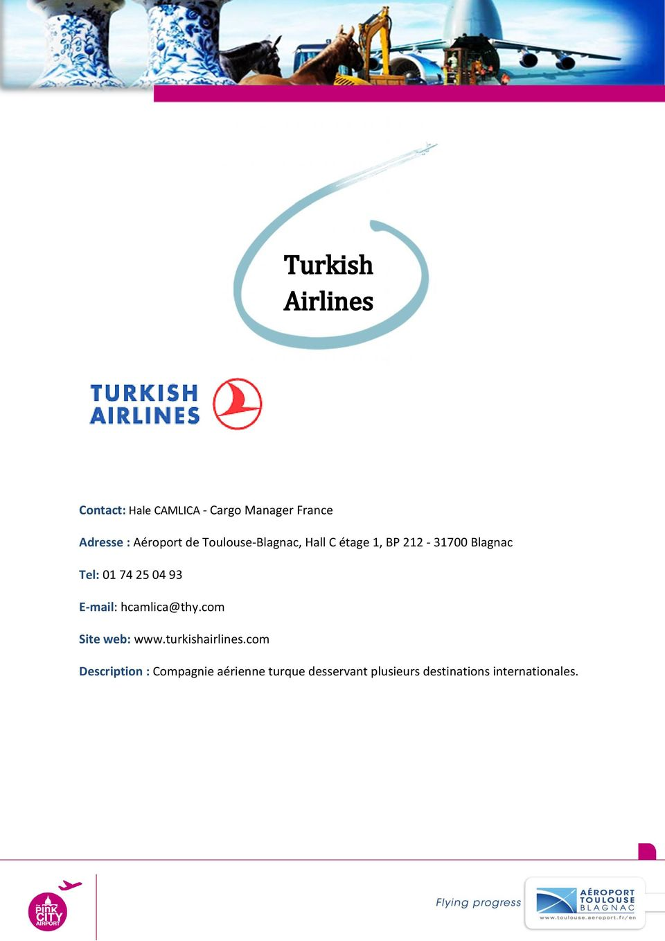 93 E-mail: hcamlica@thy.com Site web: www.turkishairlines.