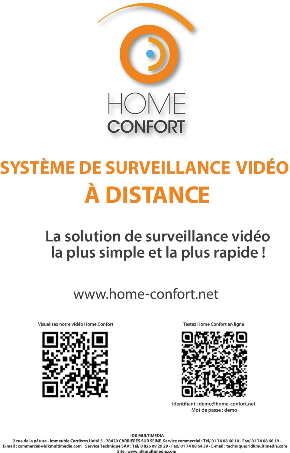 solution de surveillance