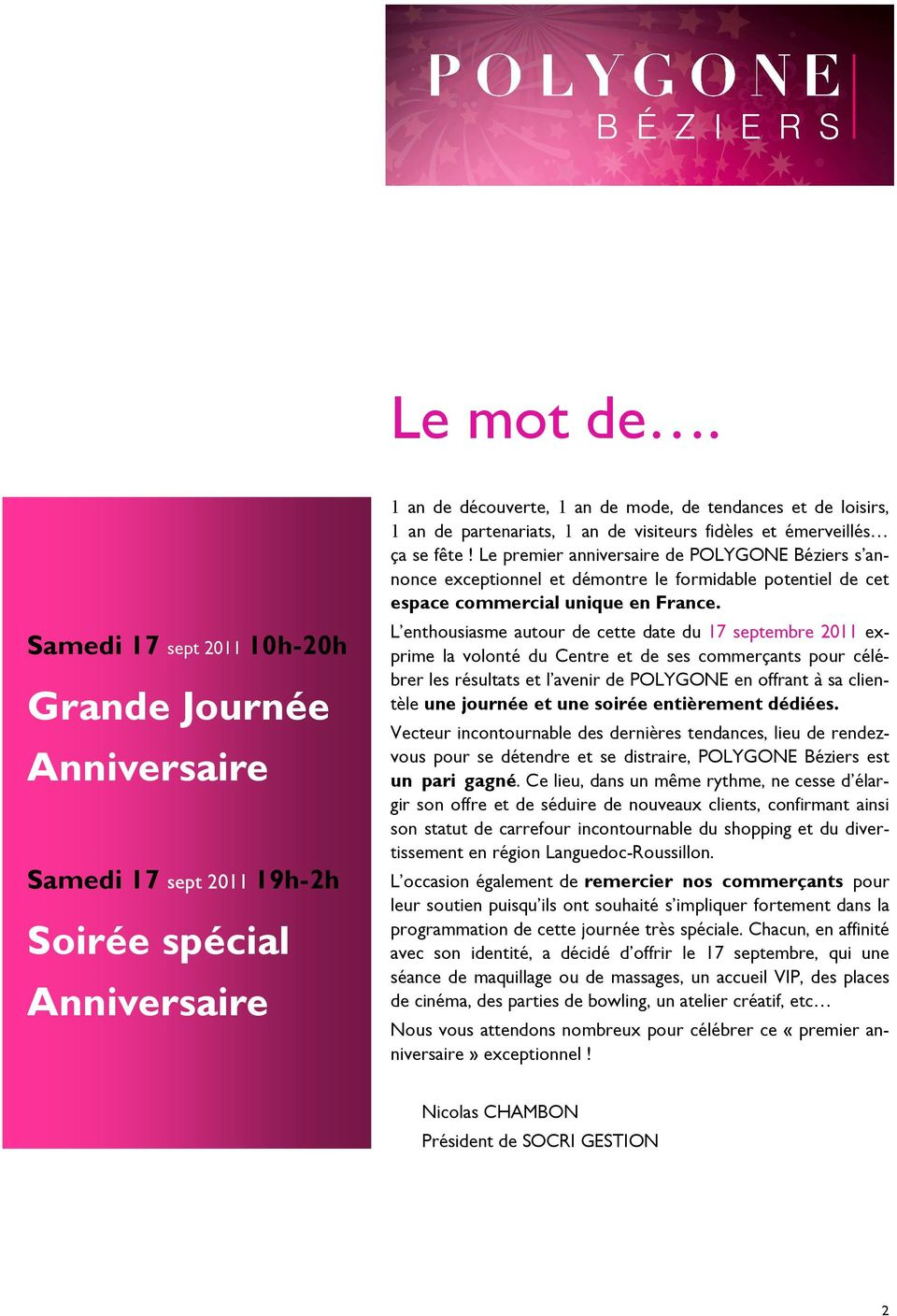 anniversaire bowling polygone beziers