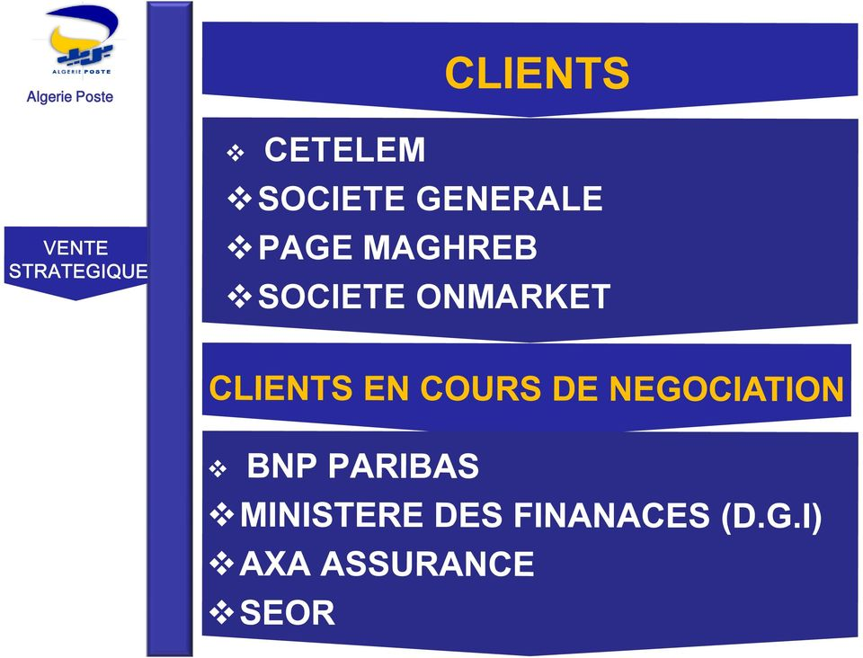 GENERALE PAGE