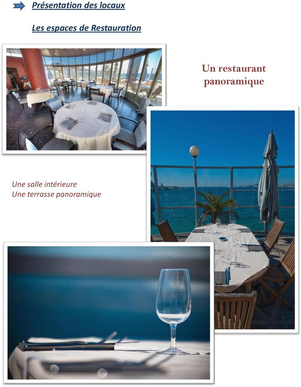 restaurant panoramique Une