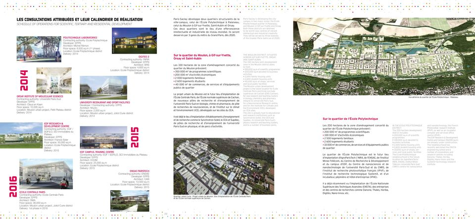 soler EDF Research & Development Centre Contracting authority: EDF / SOFILO, SCI Immobilière du Plateau Architect: Francis Soler Floor space: 50,000 sq.