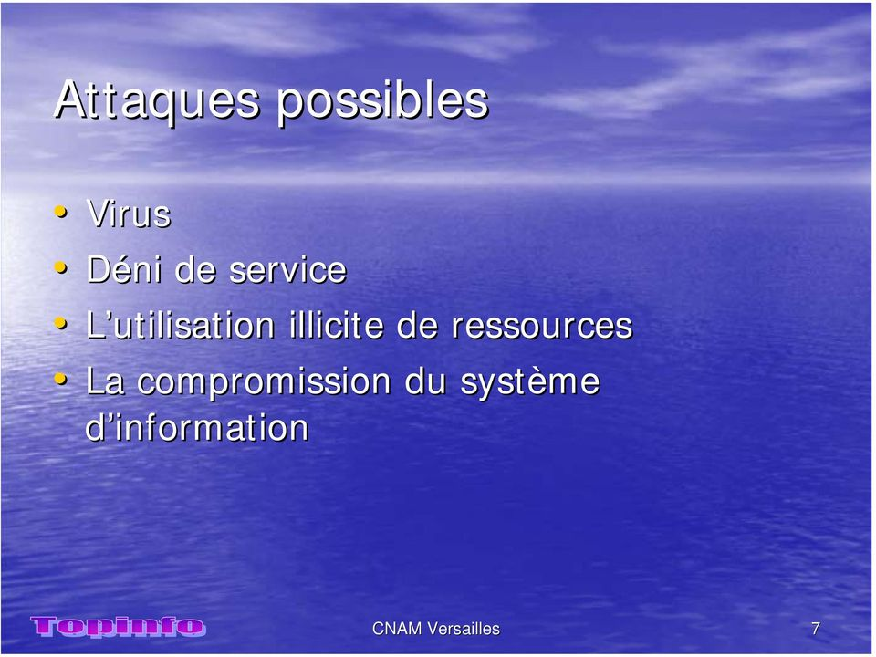ressources La compromission du