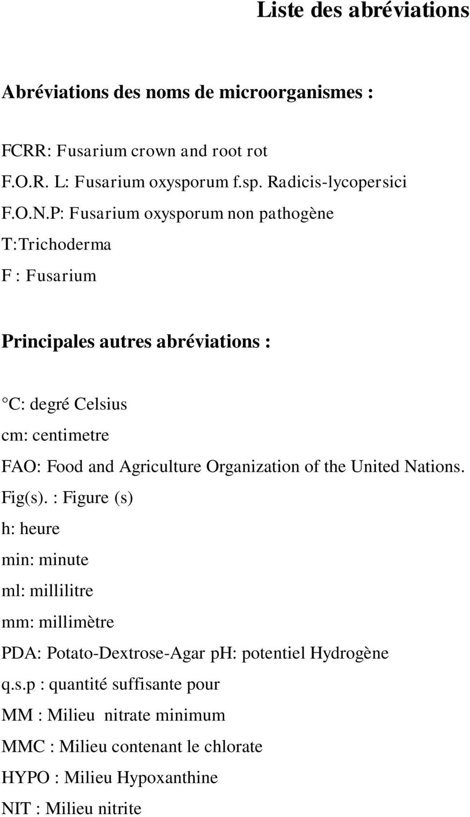Agriculture Organization of the United Nations. Fig(s).