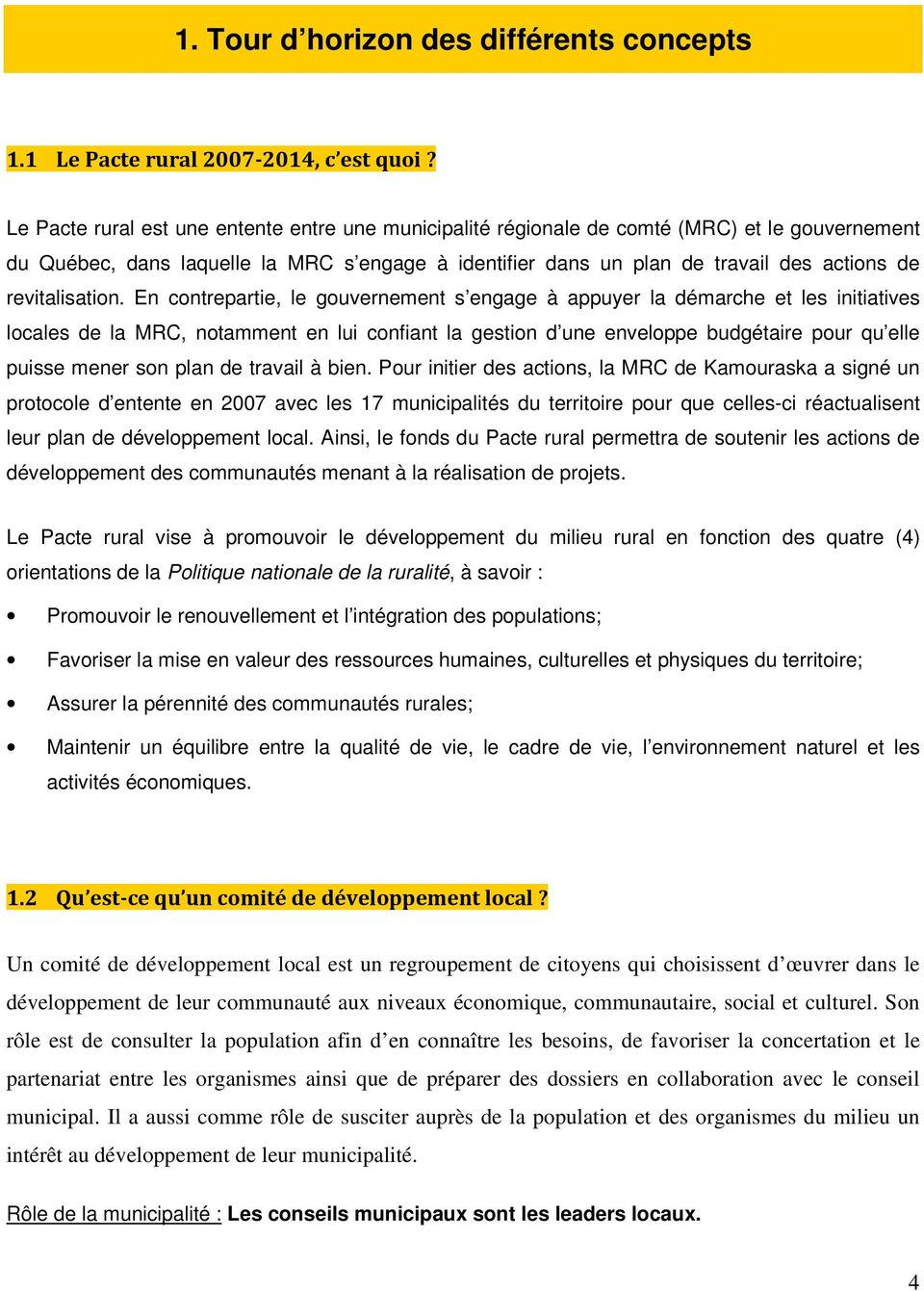 revitalisation.