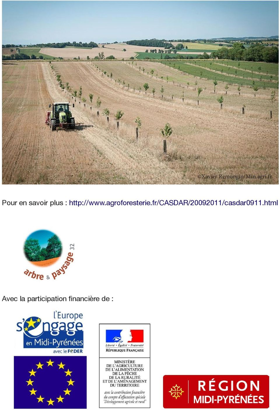 agroforesterie.