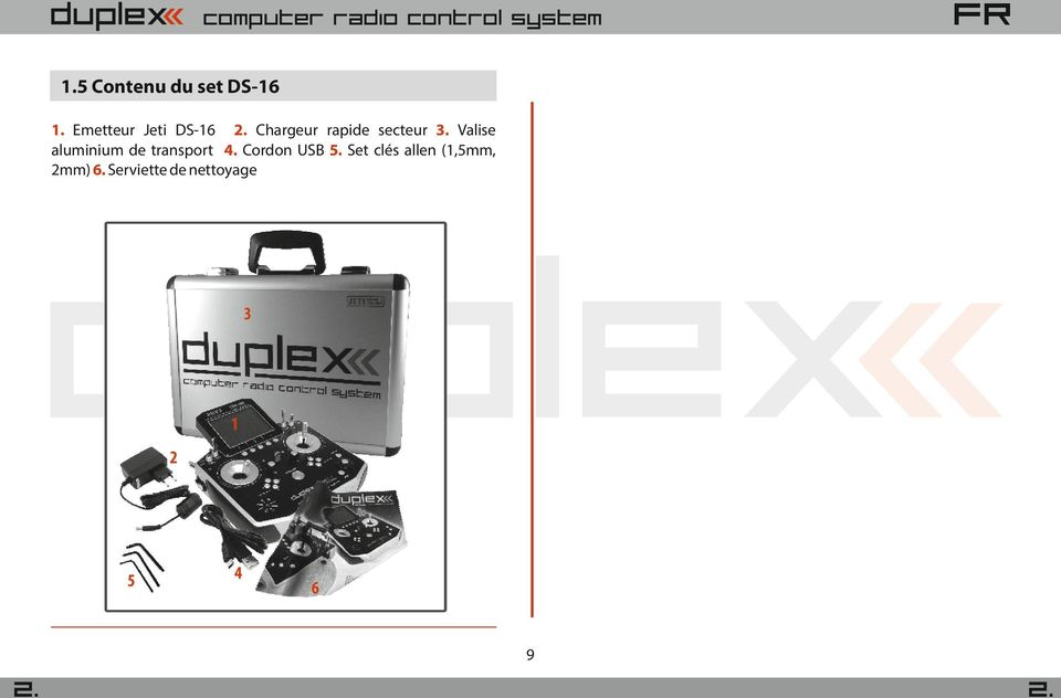 Valise aluminium de transport Cordon USB 5.
