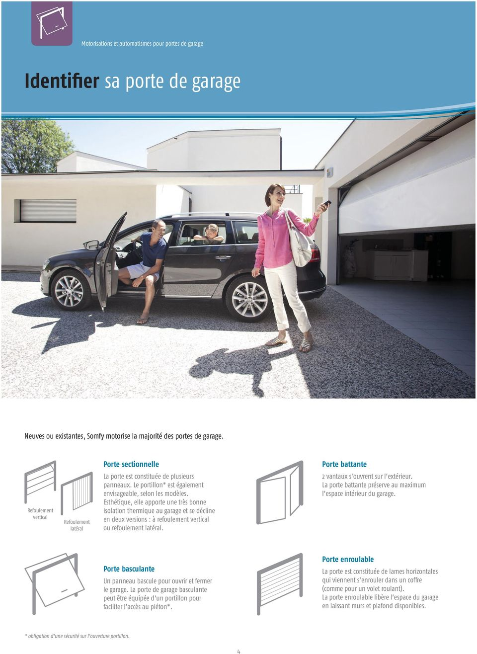 Guide portes de garage motorisations et automatismes pdf for Porte de garage enroulable le bon coin