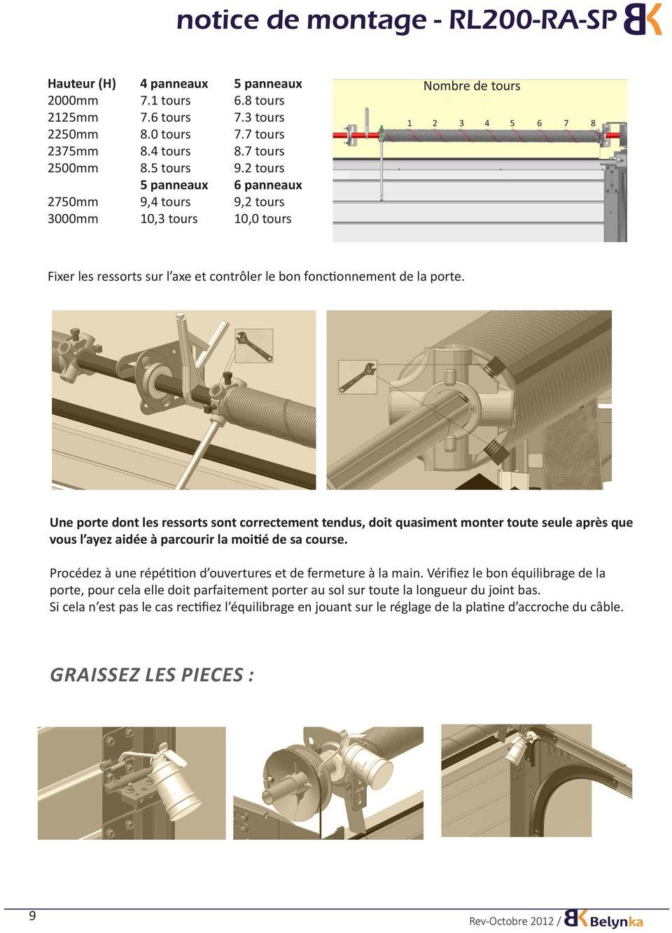 notice de montage rl200 ra sp pdf. Black Bedroom Furniture Sets. Home Design Ideas