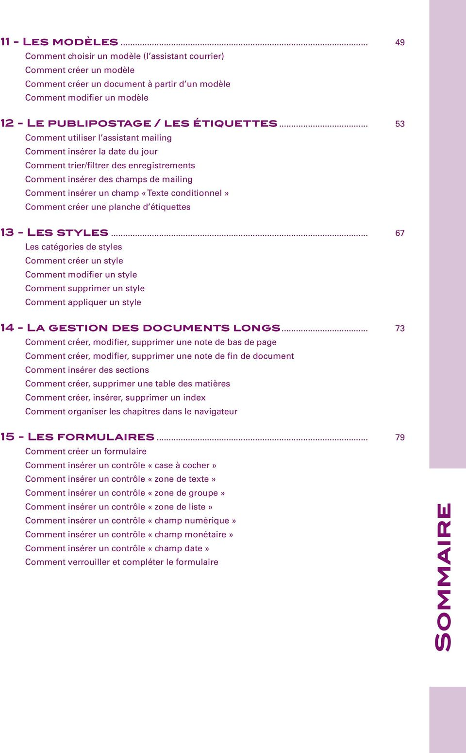 Open office niveau 1 writer pdf - Comment faire un organigramme open office ...