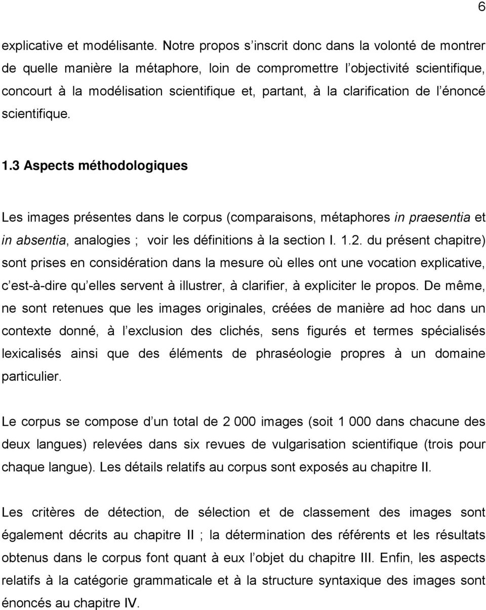 clarification de l énoncé scientifique. 1.