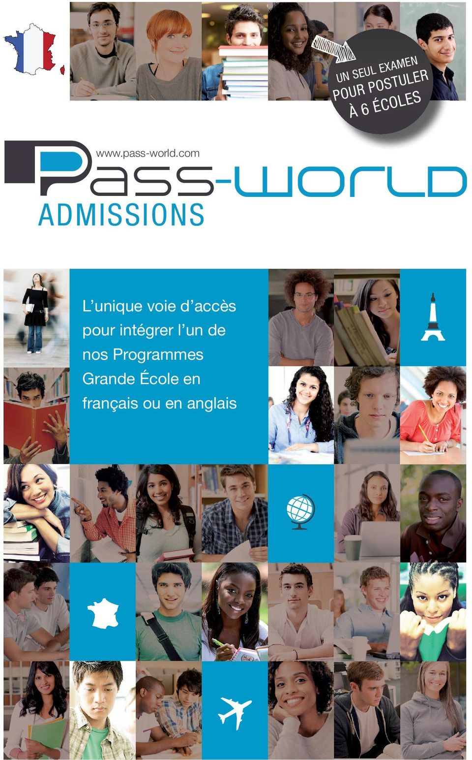 com ADMISSIONS ENTER TOP FRENCH BUSINESS SCHOOLS Your single entrance L unique