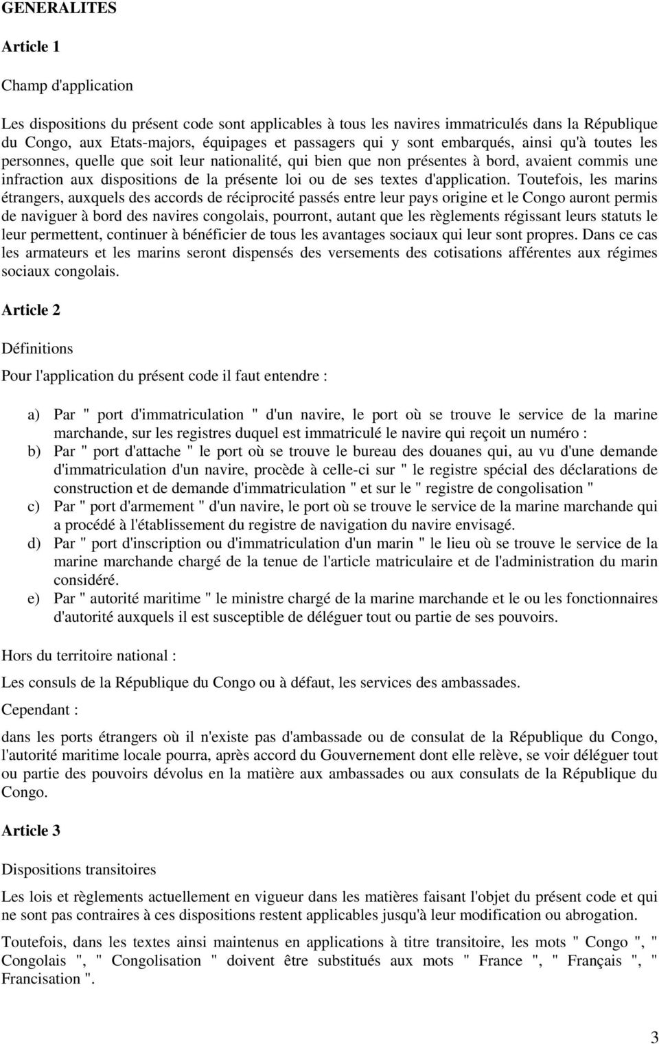 textes d'application.