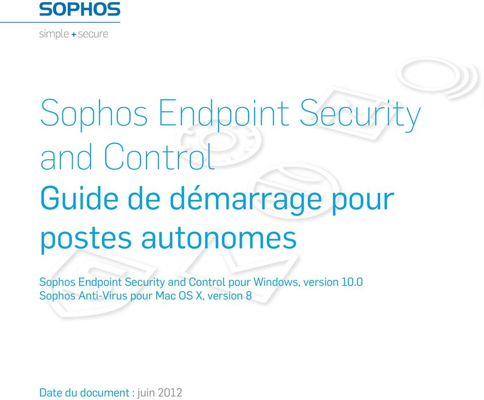 Security and Control pour Windows, version 10.